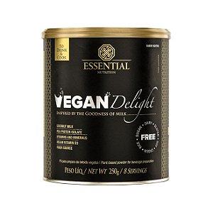 VEGAN DELIGHT 250g | 8 porções - Leite em pó vegetal