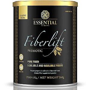 FIBERLIFT - 260g | 52 porções - Prebiótico com 5 tipos de fibras