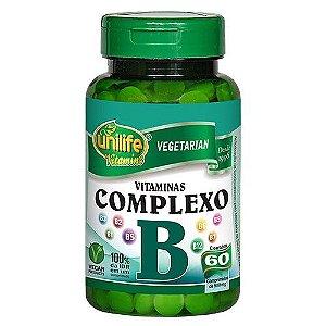 Complexo B em Cápsulas - Unilife - 60 cápsulas