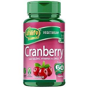Cranberry em cápsulas c/ Vitaminas e Minerais - Unilife