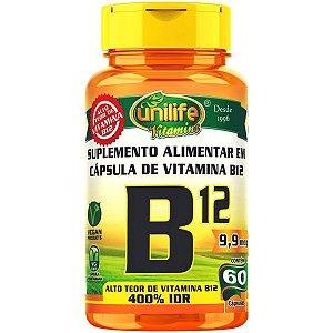 Vitamina B12 - Unilife | 60 cápsulas