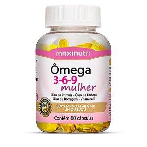 Ômega 3-6-9 Mulher - 60 cápsulas