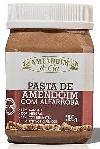 Pasta de Amendoim com alfarroba - 390g