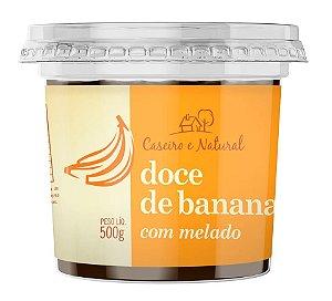 DOCE DE BANANA COM MELADO 500g