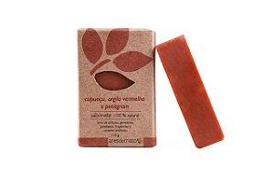 Sabonete Cupuaçu, Argila Vermelha e Petitgrain - Pele Oleosa - Ares de Mato - 115g