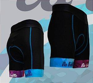 Bermuda para ciclismo feminina Oggi La Belle