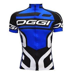 Camisa de Ciclismo Oggi Azul