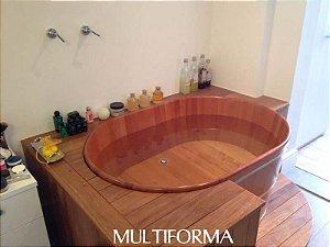 Ofurô Oval Cônico Padrão 100X60cm