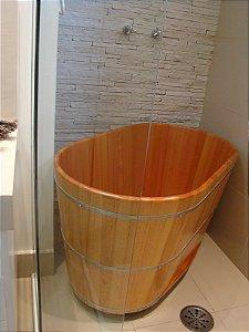 Ofurô Oval Cônico Padrão 120X80cm