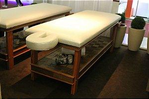 Mesa Para Massagem Multifuncional Peroba 195x70cm