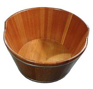 Ofurô Infantil Redondo - Ofurô confeccionado em madeira - MULTIFORMA.