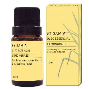 Óleo Essencial de Lemongrass 10 ml