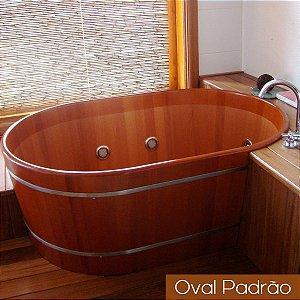 Ofurô Oval Casal - 130x90cm