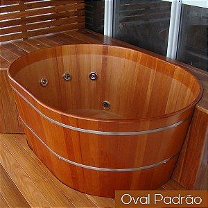 Ofurô Oval Casal - 150x110cm