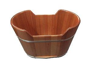 Ofurô Infantil Oval - Ofurô confeccionado em madeira - MULTIFORMA.