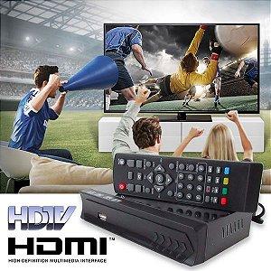Conversor de TV Digital com Função Gravador