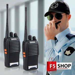 Rádio Comunicador Walk Talk Baofeng 777s Alcance 12km Ptt