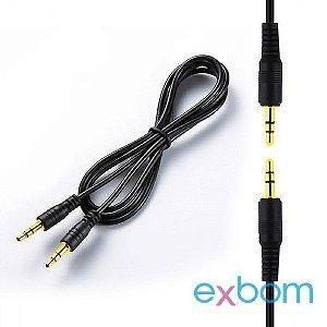 Cabo De Audio Stereo P2 X P2 Conector 3.5mm 2 Metros