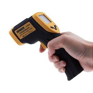 Termômetro Digital Infravermelho Com Mira Laser Dt-8380