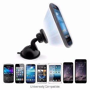 Suporte Magnético Veicular para Celular Tablet Iphone Pratico e Rápido