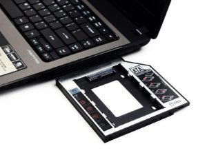 Adaptador Dvd para Hd Ou Ssd Notebook Drive Caddy 12,7mm Sata