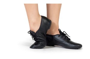Sapato de Amarrar em Couro Capezio