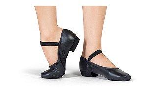 Sapato em Couro Modelo Boneca Capezio