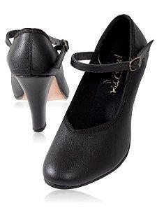 Sapato com Decote em V - Capezio