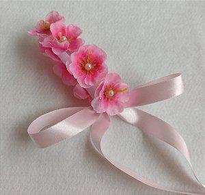 Porta Coque Flor de Laranjeira