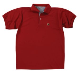 Camisa Masculina Gola Polo Muladeiros Vermelho