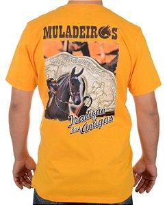 Camiseta Muladeiros c/ estampa