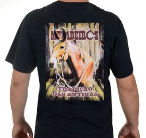 Camiseta Preta dos Muladeiros