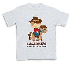 Camiseta Muladeirinhos infantil