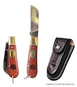 Canivete Muladeiro em aço inox