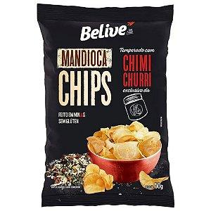 Chips de Mandioca Com Chimichurri (50g) - Belive