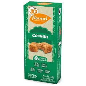 Cocada Zero 3 Unidades - Flormel