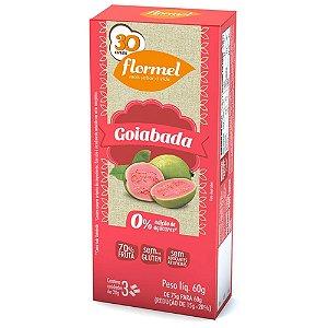 Goiabada Zero 3 Unidades - Flormel