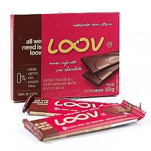 Chocolate Loov Ao Leite de Coco 50g - 2 Unidades