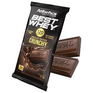 Chocolate Proteico Crunchy (25g) - Atlhetica Nutrition