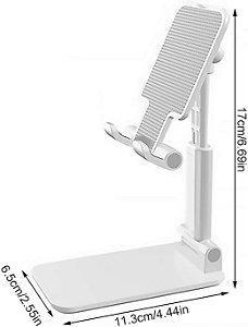 Suporte De Mesa Articulado Para Celular Tablet Selfie Multi Uso iPhone / Samsung / Xiaomi / Motorola
