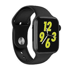 Smartwatch Iwo 8 44 Mm Preto Com Pulseira Removível