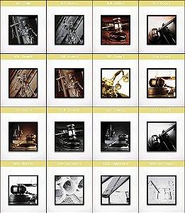 Coleção - Quadros Decorativos Profissões