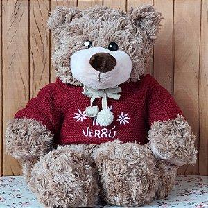 Urso de Pelúcia - Tamanho 45cm - VERRÚ