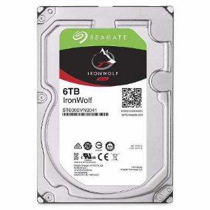 "HD NAS Seagate IronWolf 3.5"" Internal Hard Drive - SATA 5900rpm 64mb"
