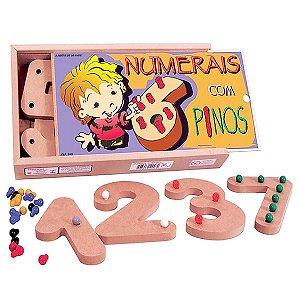 Numerais com Pinos (5anos ou+)