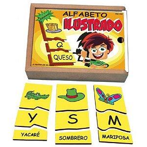 Alfabeto Ilustrado Espanhol  (8anos ou+)