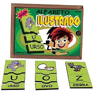 Alfabeto Ilustrado em Português  (6anos ou+)