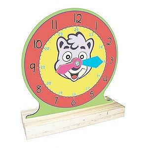 Relógio com Ponteiros Flexíveis  (5anos ou+)
