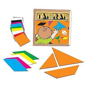 Tangran - Quebra-Cabeça   (5anos ou+)