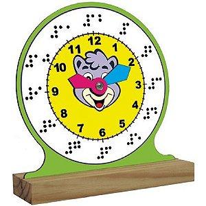 Relógio em Braille (5anos ou+)